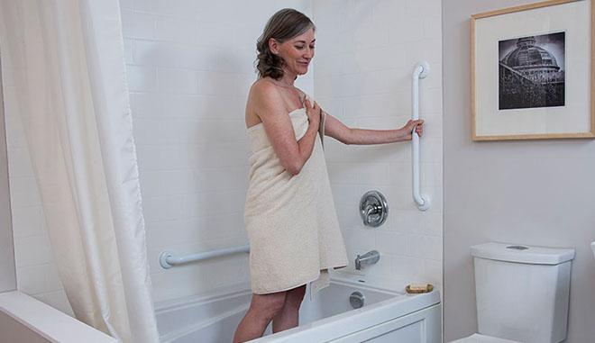 Handicap Home Modifications, Handicap Bars For Bathroom