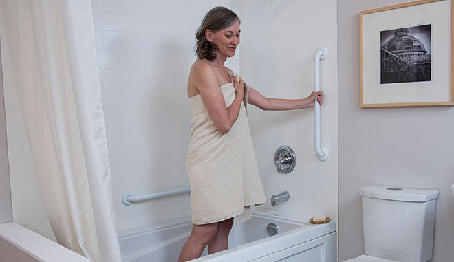 Handicap Bathroom Grab Bars Newtown Pa Adaptive Living Solutions