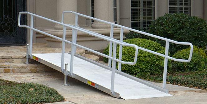 handicap ramp installation wheelchair ramps langhorne pa adaptive